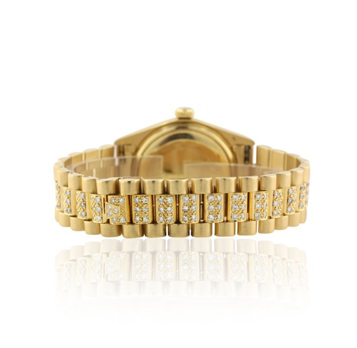 Rolex 18KT Yellow Gold Super President Style DayDate Wr - 2