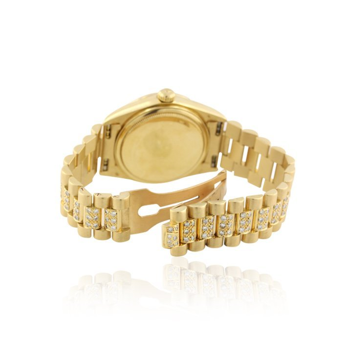 Rolex 18KT Yellow Gold Super President Style DayDate Wr - 3
