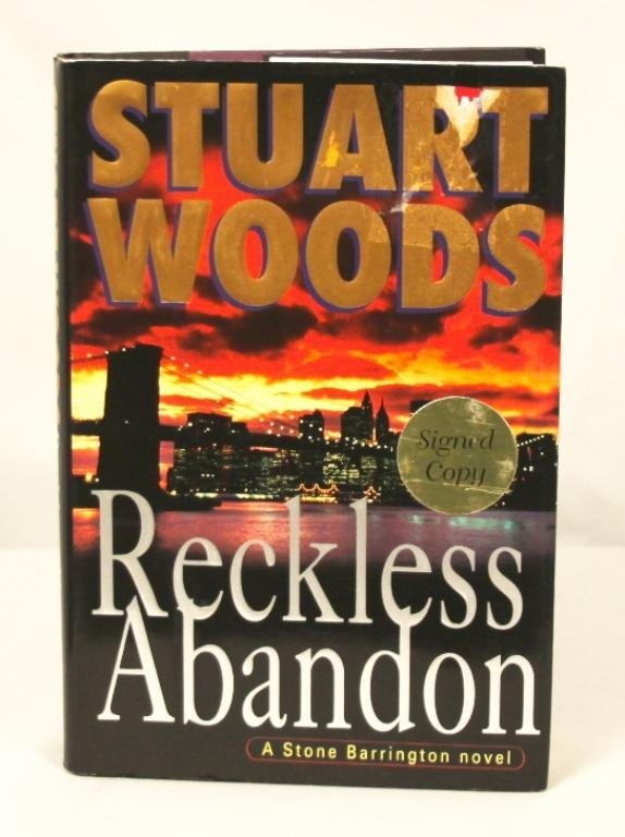 "Autographed Copy of ""Reckless Abandon"" BK14"