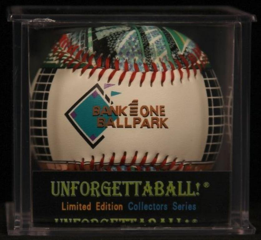 """Unforgettaball! """"Bank One Ballpark"""" Collectable"""