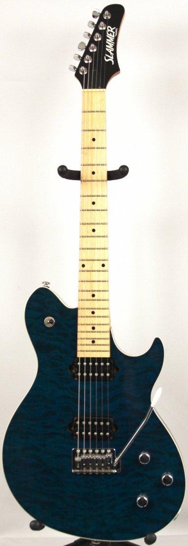 Hamer Slammer EVH Electric Guitar in Blue DGUI99