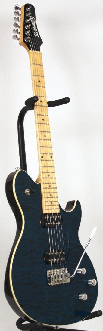 Hamer Slammer EVH Electric Guitar in Blue DGUI99 - 2