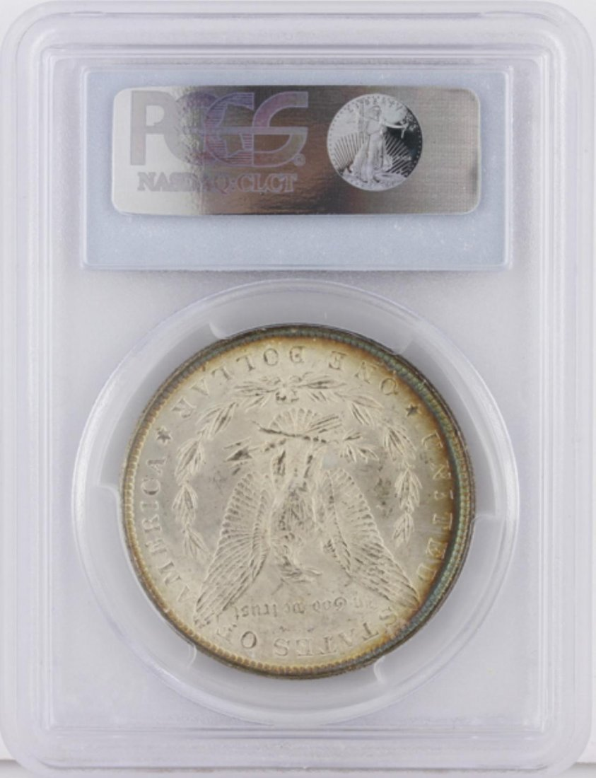 1882 Morgan Silver Dollar PCGS Graded MS64 GCE230 - 2