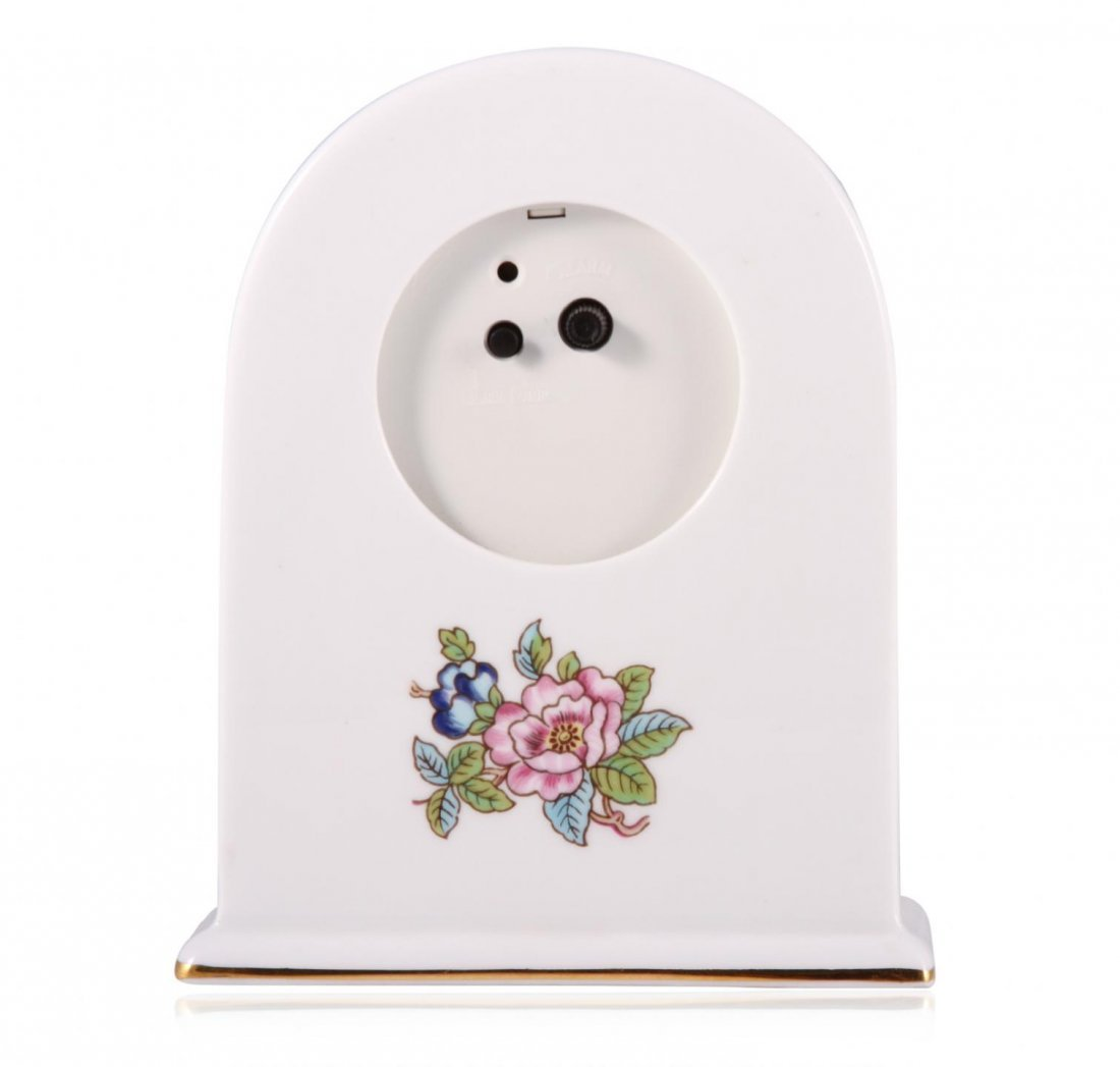 Aynsley Pembroke Fine Bone China Mantel Clock  JRM172 - 2