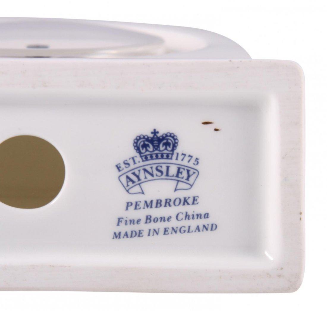 Aynsley Pembroke Fine Bone China Mantel Clock  JRM172 - 3