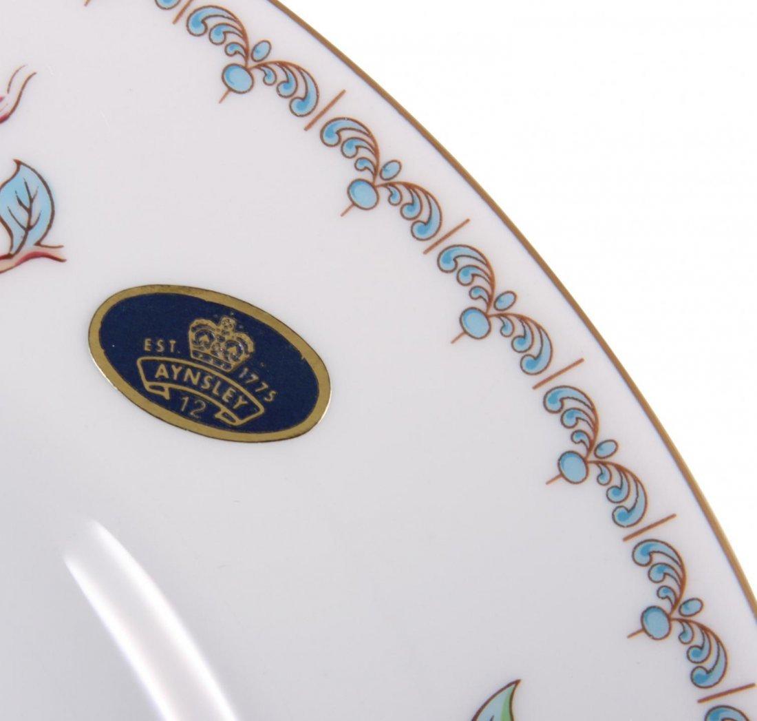 Aynsley Pembroke Fine Bone China Dinner Plates  JRM218 - 2