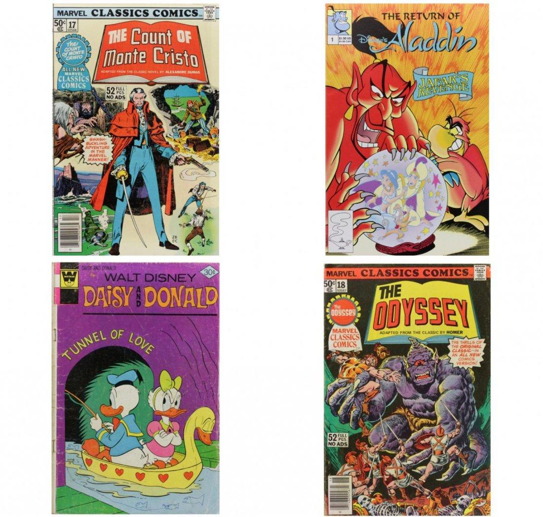 Vintage Comic Books Lot of 4 CB1447