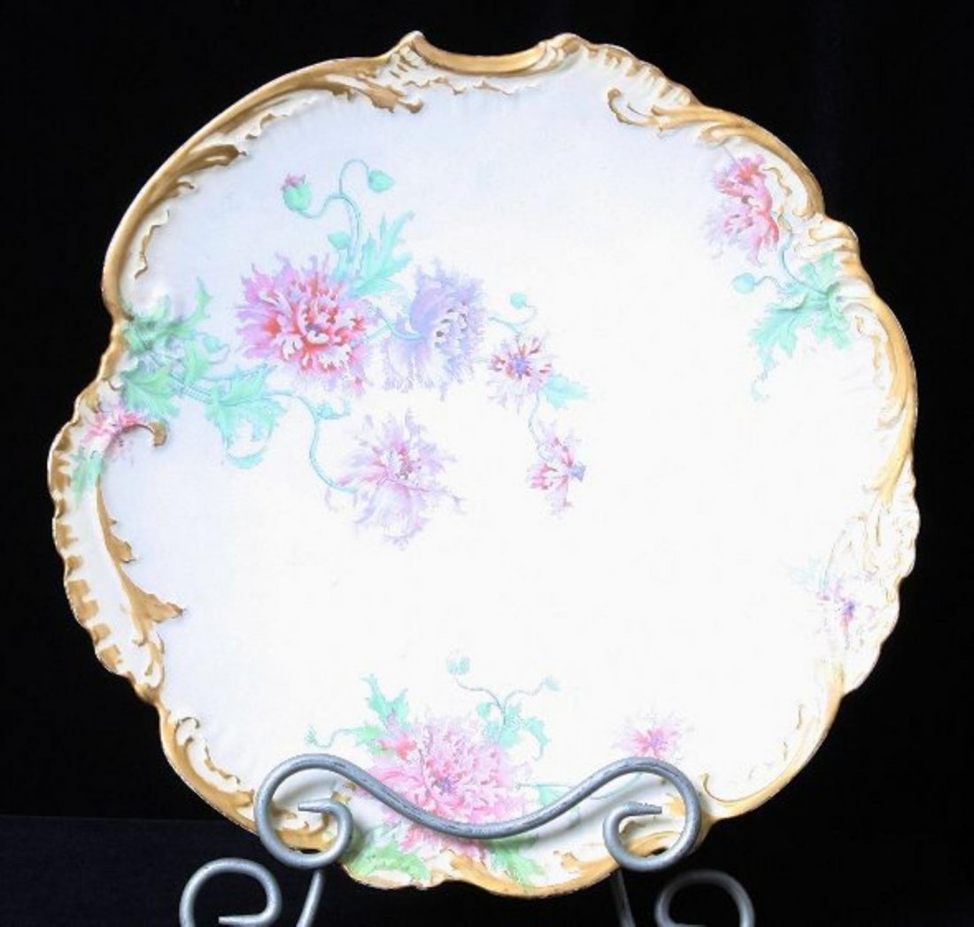 Antique Limoges Hand painted Platter ED426