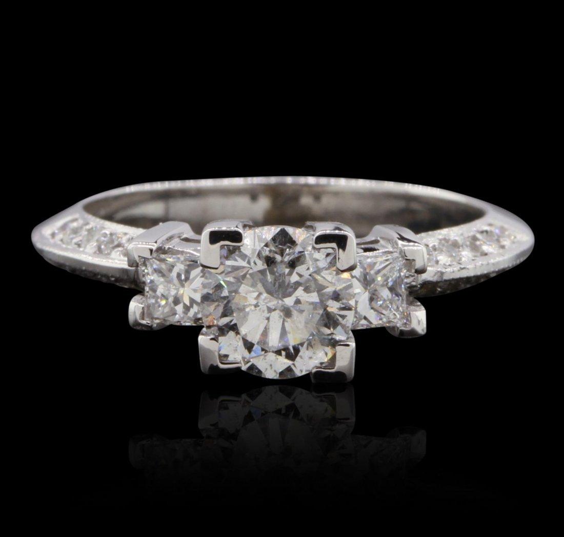 14KT White Gold 1.54ctw Diamond  Ring GB4680