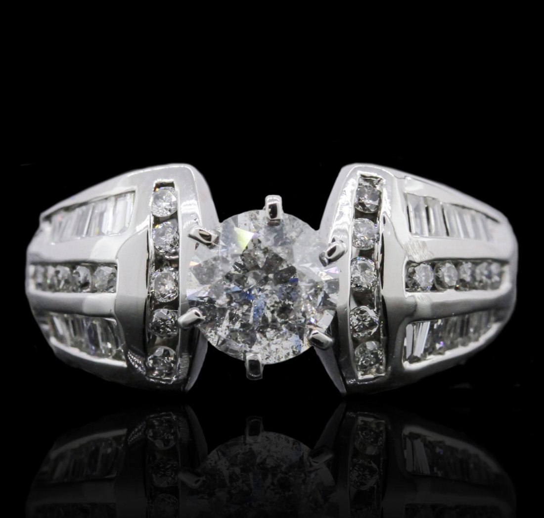 14KT White Gold 1.77ctw Diamond Ring GB5530