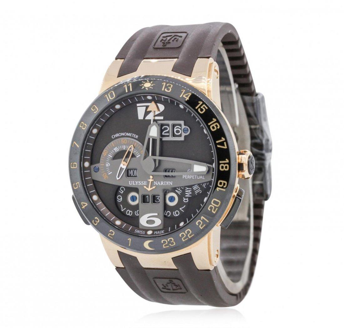 Gents Ulysse Nardin 18KT Rose Gold El Toro Wristwatch