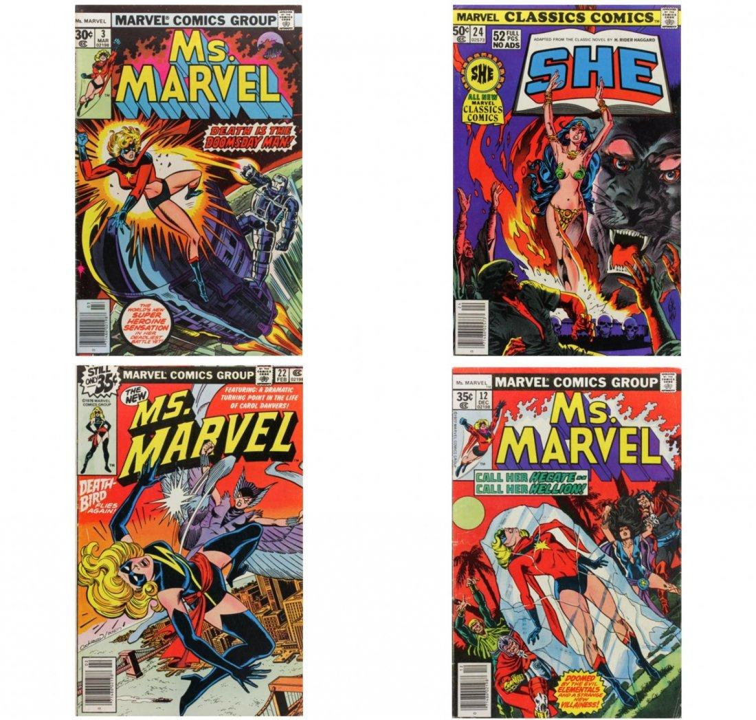 Vintage Comic Books Lot of 4 CB1440