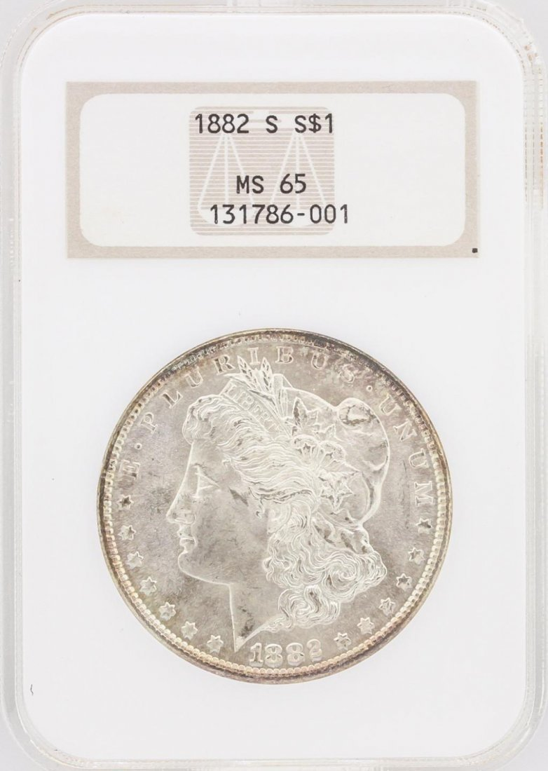 1882 S $1 MS65 NGC Silver Eagle Coin SCE1788