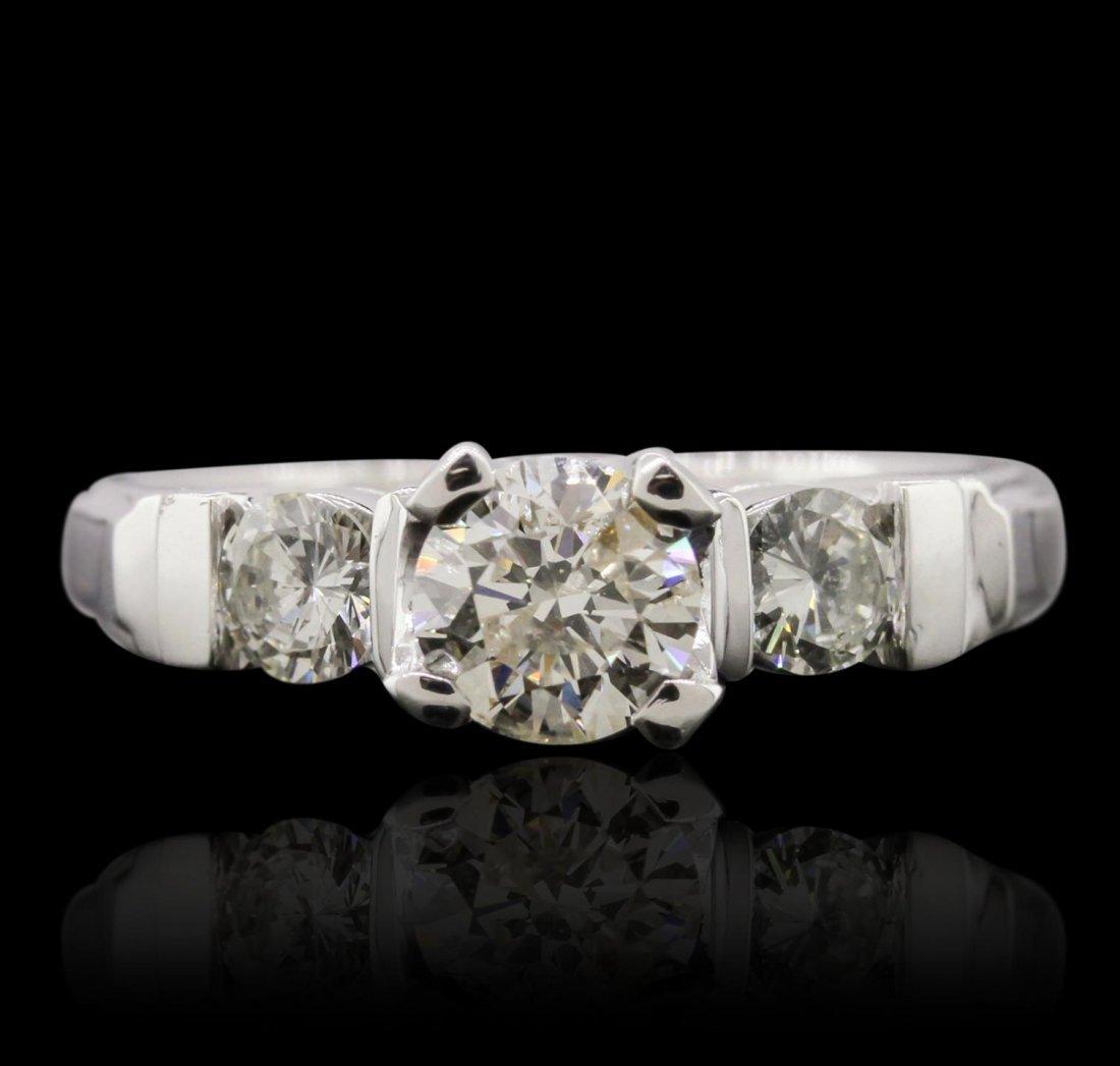 Platinum 1.20ctw Diamond Ring GB6143