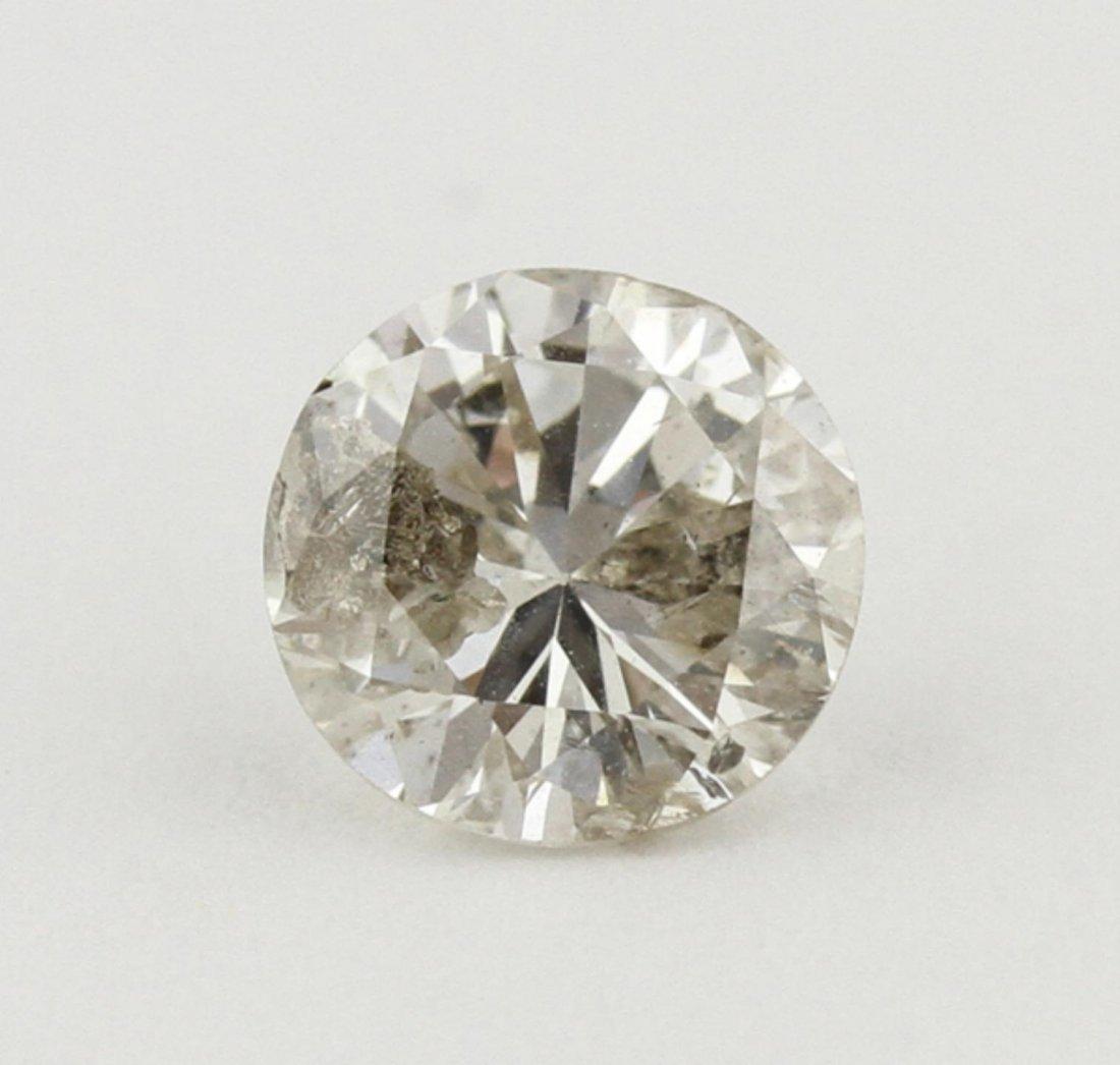 GIA Certified 0.99ct I-3/I Round Cut Loose Diamond