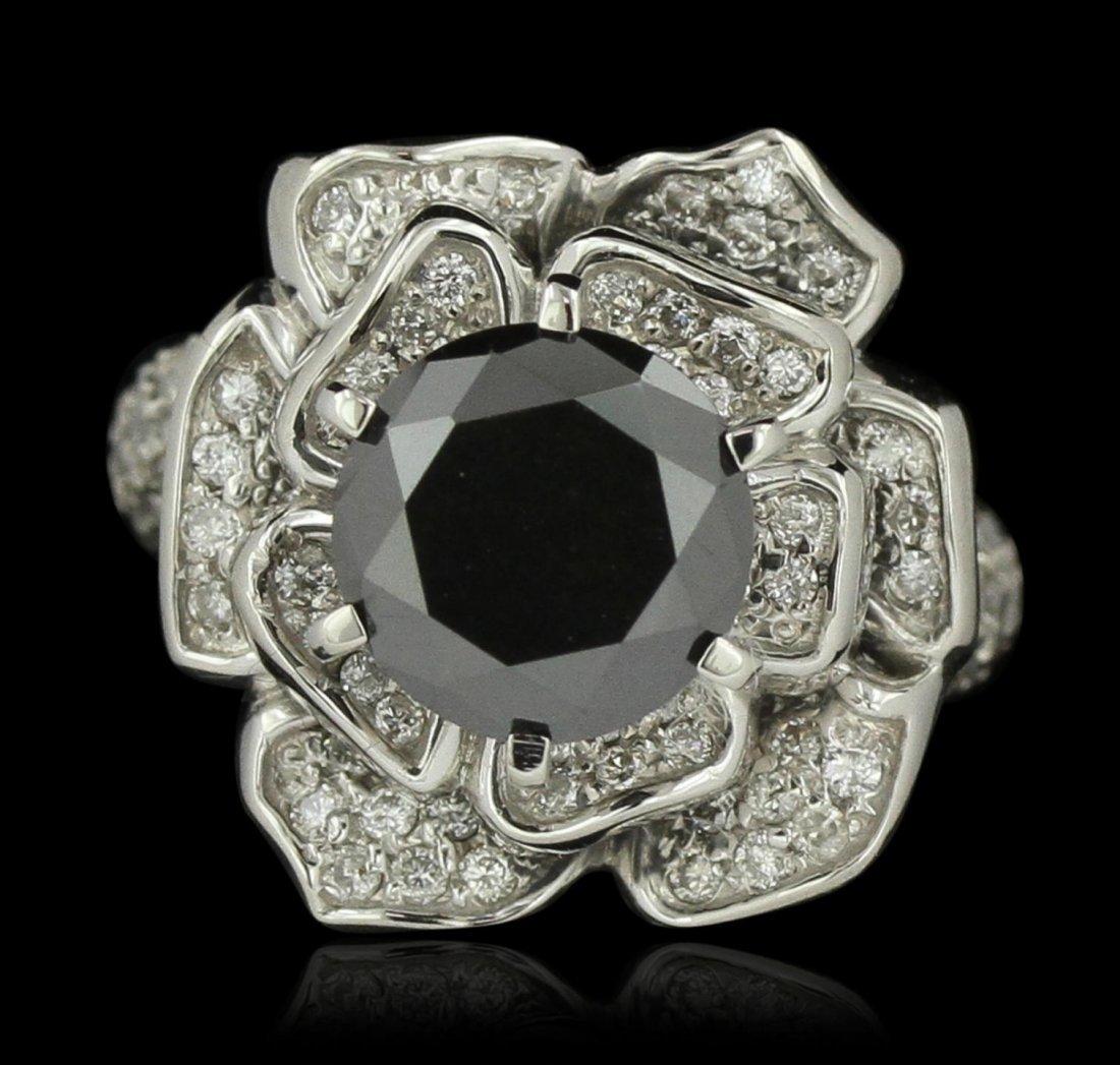 14KT White Gold 3.57ctw Diamond Ring GB5835