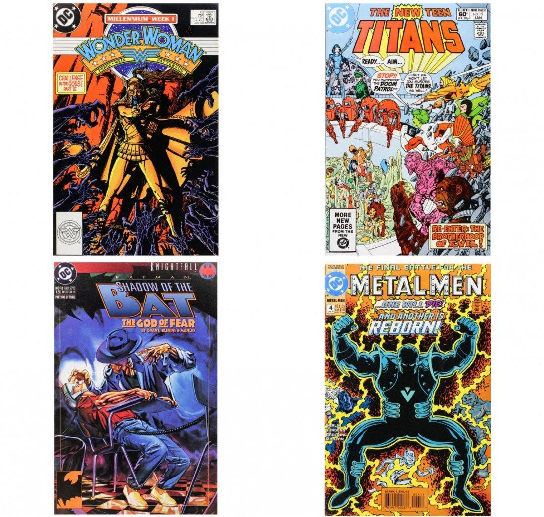 Vintage Comic Books Lot of 4 CB1452