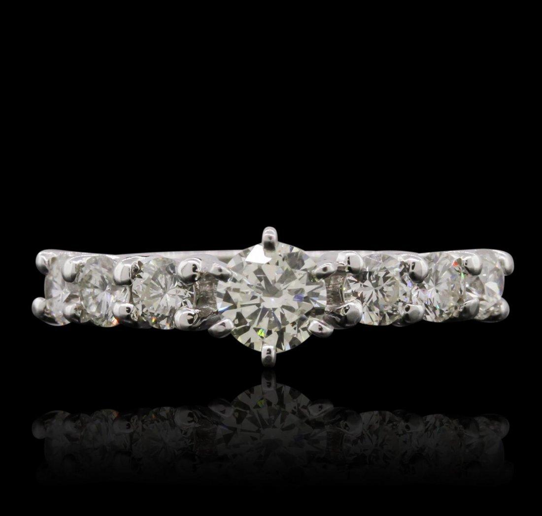 14KT White Gold 1.87ctw Diamond Ring GB6032
