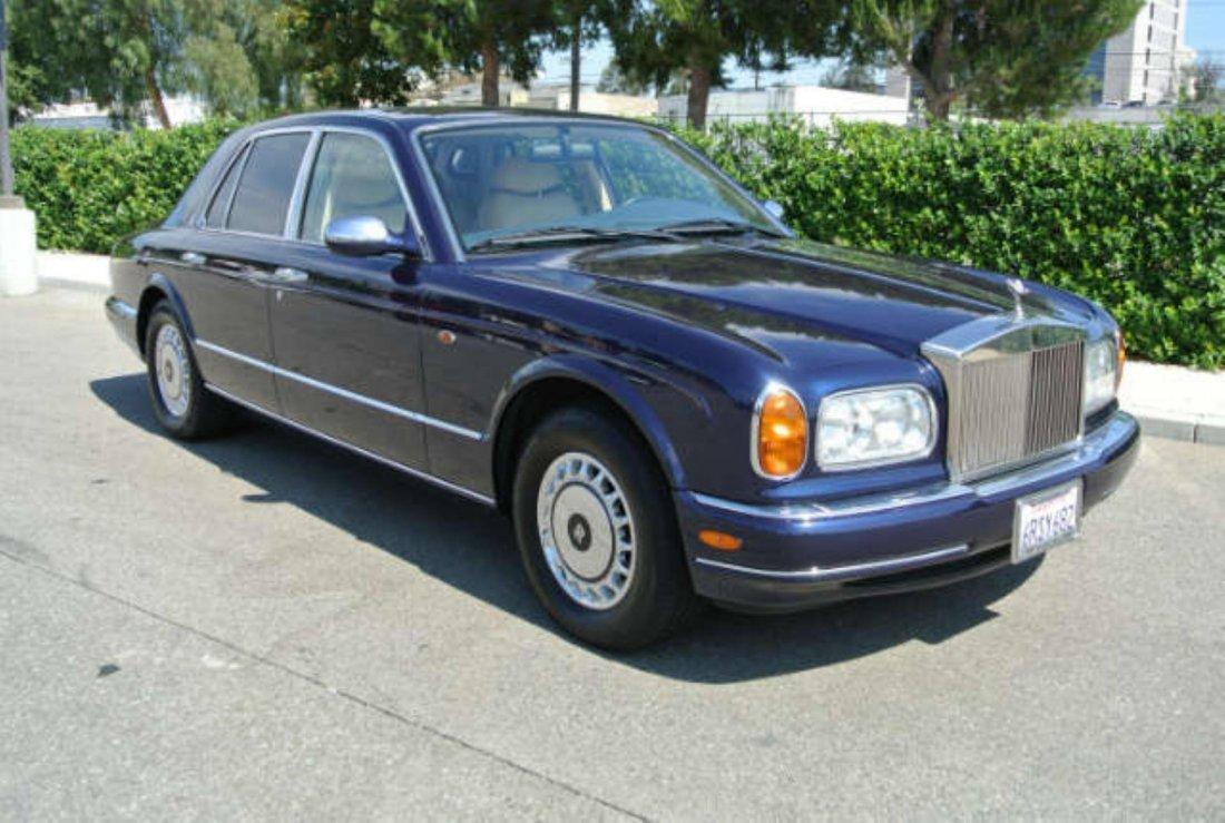1999 Dark Blue Rolls Royce Silver Seraph F1005