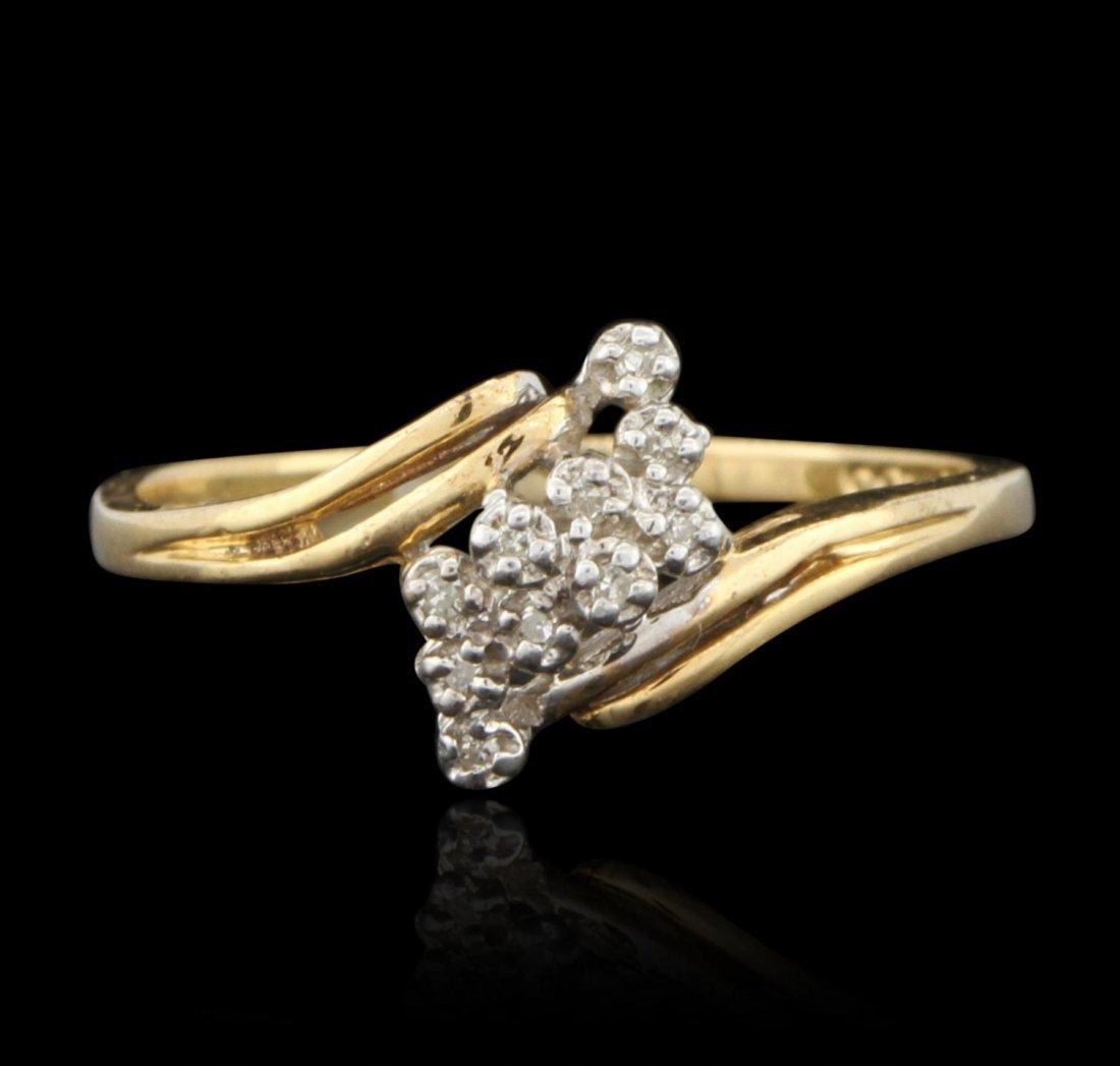 14KT Yellow Gold Diamond Ring GD545