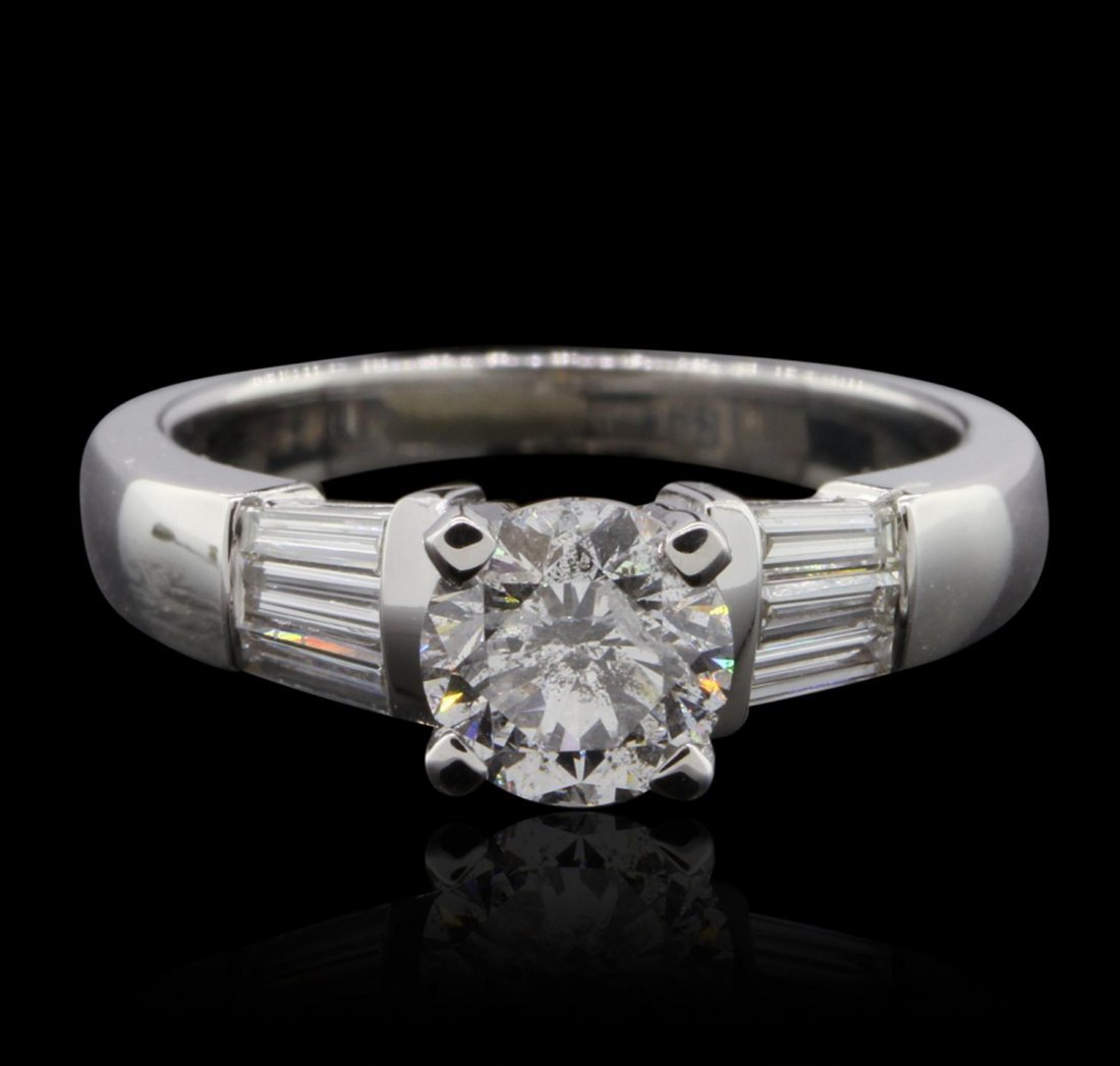 14KT White Gold 1.46ctw Diamond  Ring GB4692