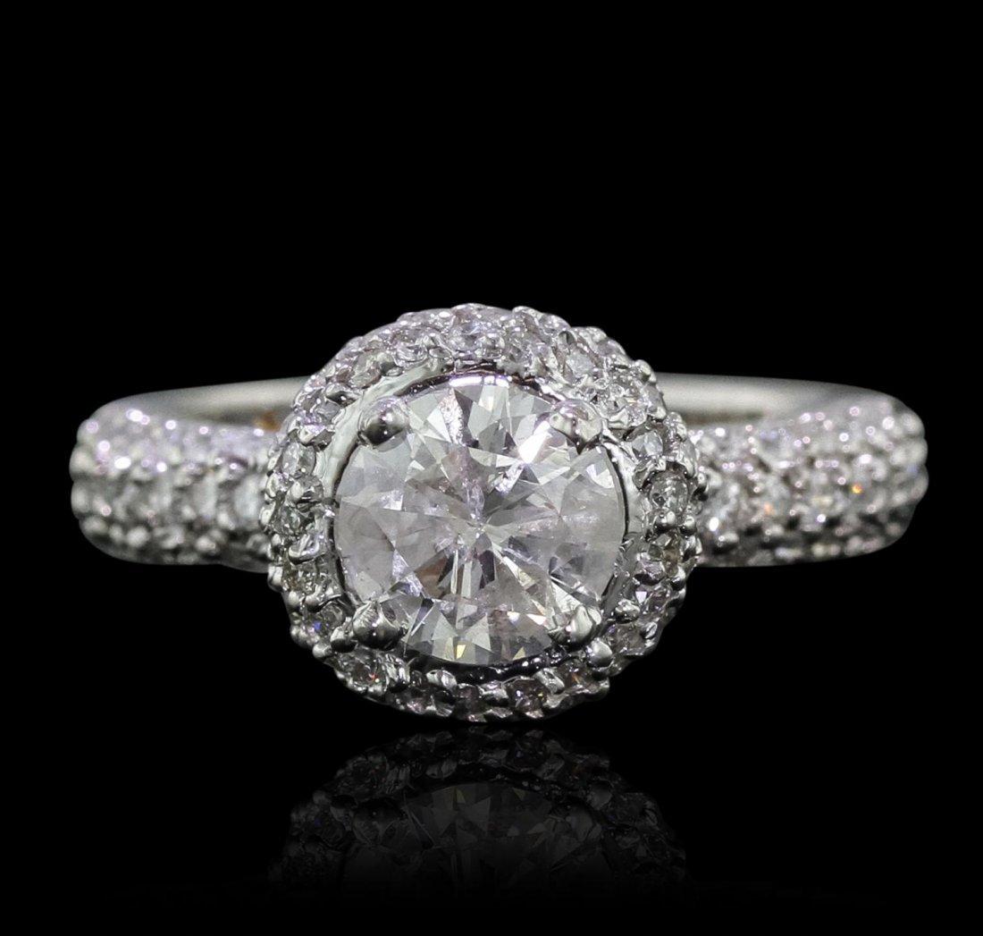 14KT White Gold 2.58ctw Diamond Ring GB6812