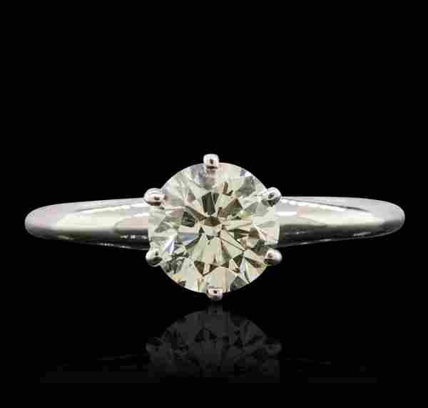 KT White Gold 1.01ct Diamond Ring FJM3885