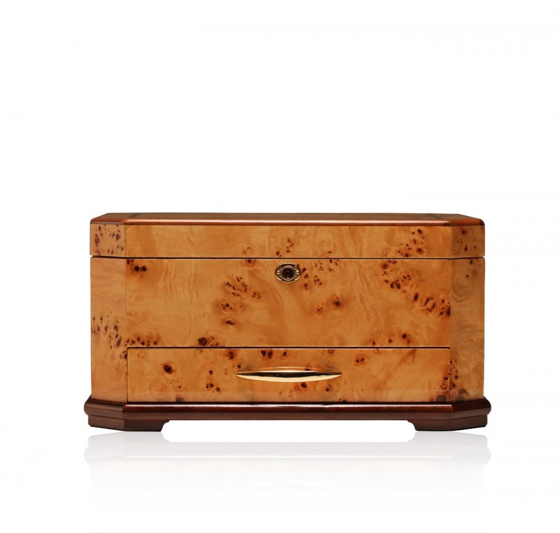 Maple Wood Jewelry Box