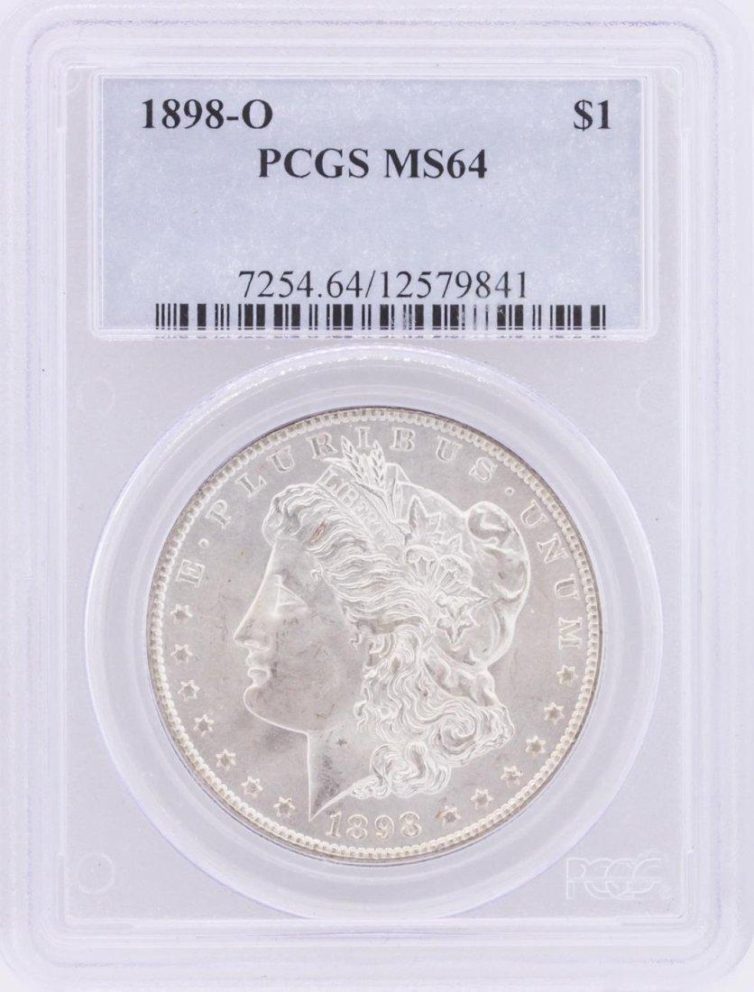 1898-O PCGS MS64 Morgan Silver Dollar