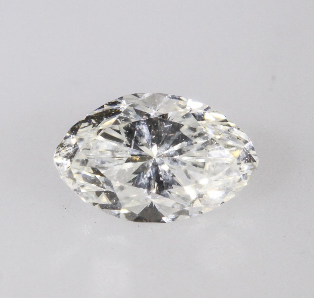 GIA Certified 0.49ct Marquise Cut Loose Diamond