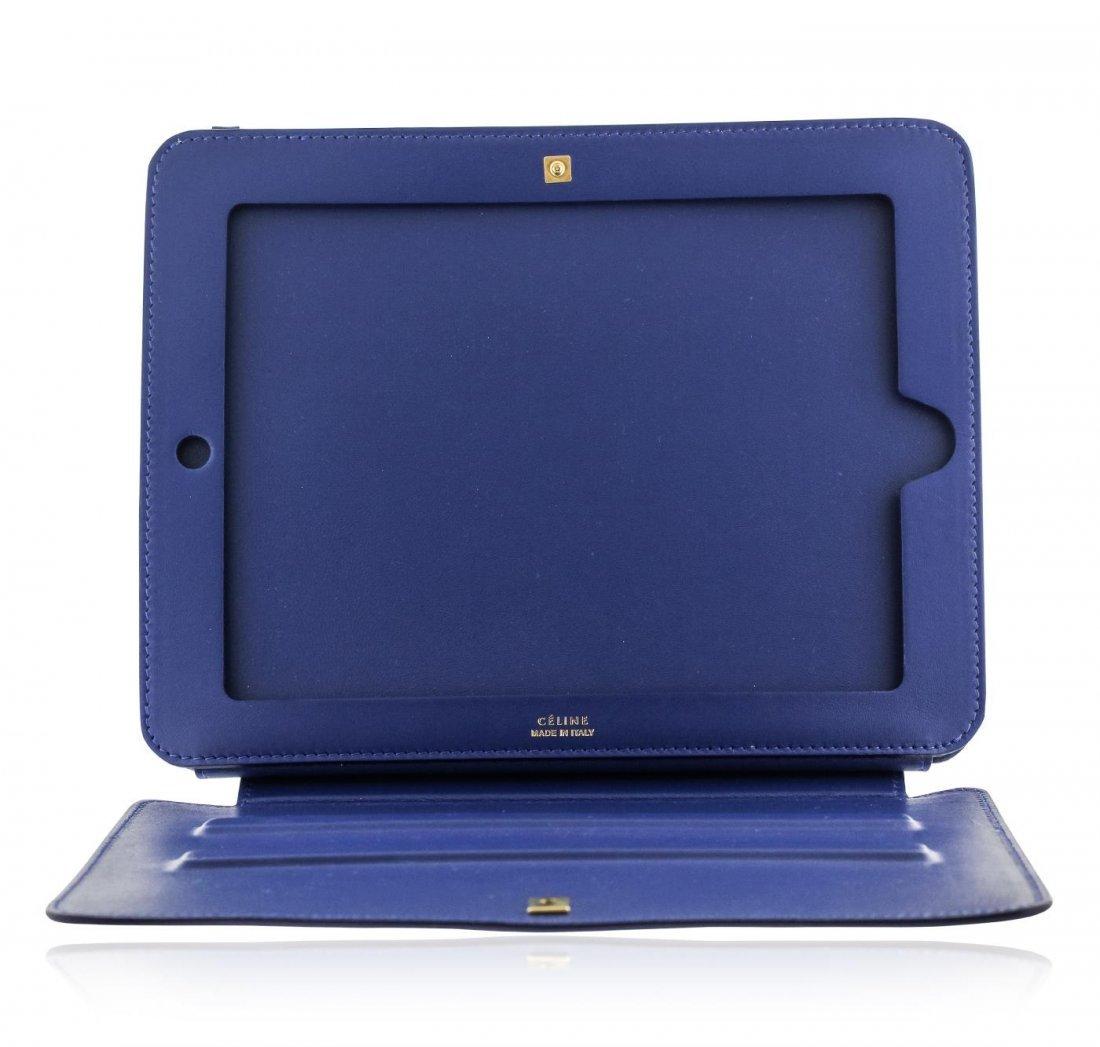 Blue Celine iPad Case