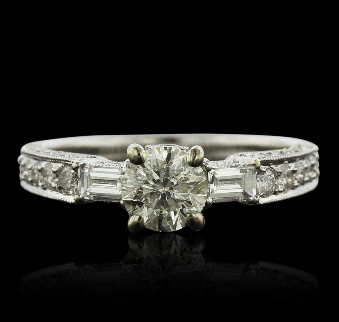 18KT White Gold 1.65ctw Diamond Ring