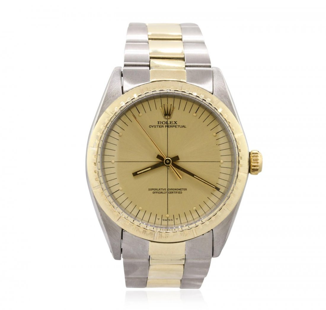 Rolex Two-Tone Oyster Perpetual Wristwatch