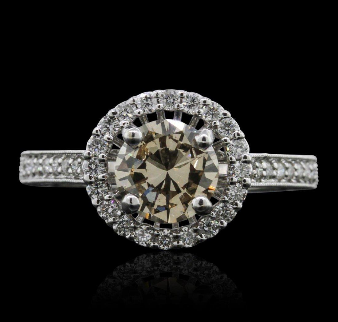18KT White Gold 1.91ctw Diamond Ring