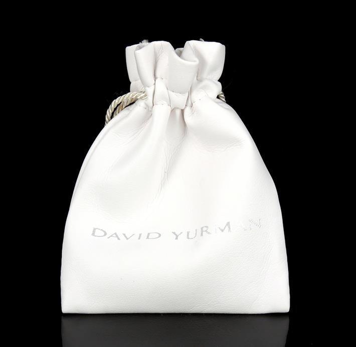 18K Gold and Sterling David Yurman Cufflinks - 3