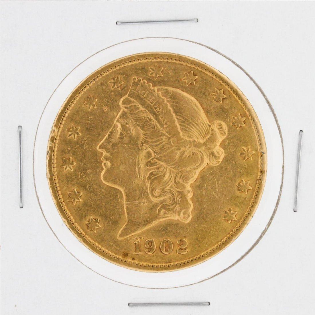 1902-S $20 XF Liberty Head Double Eagle Coin