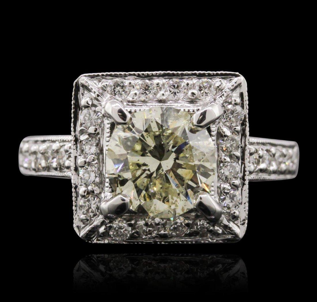 14KT White Gold 2.82ct Diamond Ring