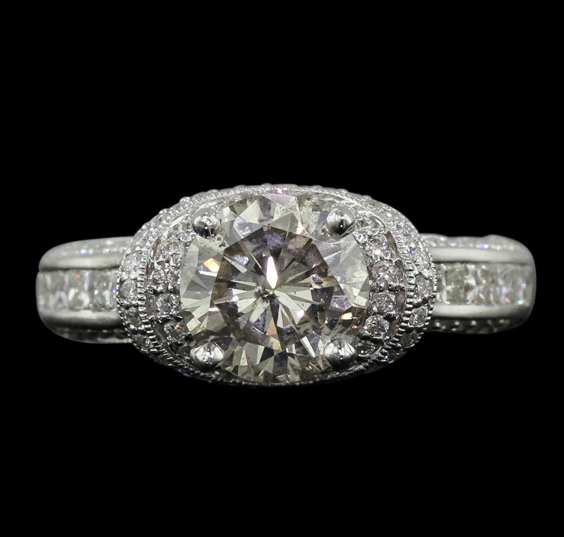 18KT White Gold 2.54ctw Diamond Ring
