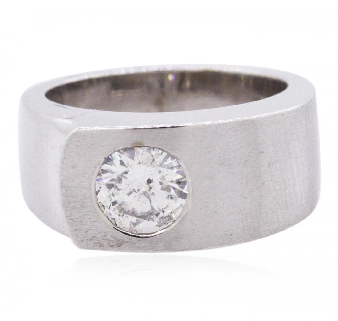 14KT White Gold 1.02ct Brilliant Cut Diamond Solitaire