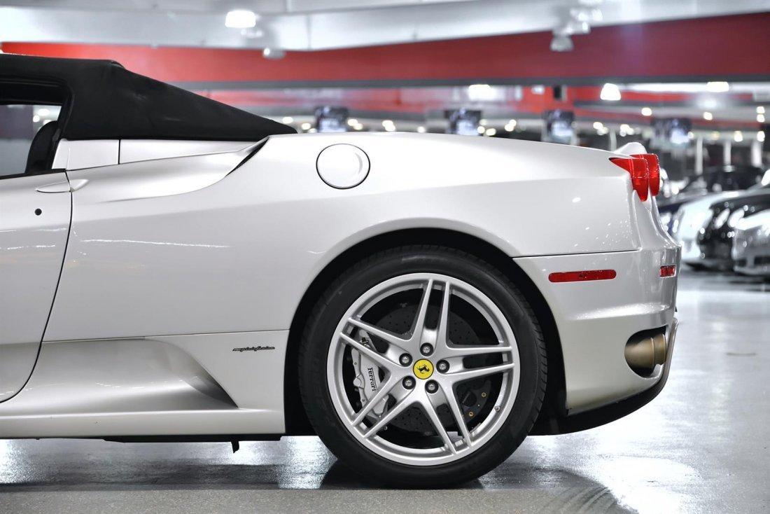 2006 Silver Ferrari F430 Spider F1 Convertible - 6