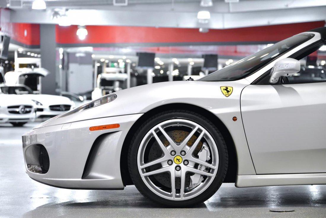2006 Silver Ferrari F430 Spider F1 Convertible - 8