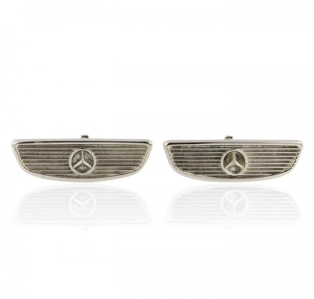 Tiffany & Co Sterling Silver Cuff Links