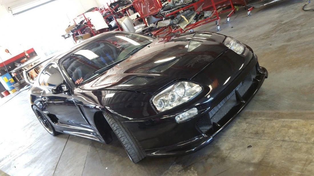 1994 Black Toyota Supra