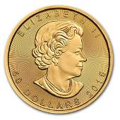 2015 Canada 1 oz Gold Maple Leaf BU