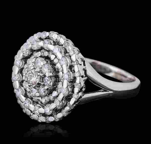 14KT White Gold 1.28ctw Brilliant Cut Diamond Ring