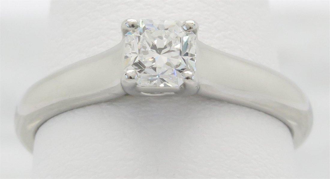 Tiffany & Co. 0.36ct Diamond Ring - Platinum