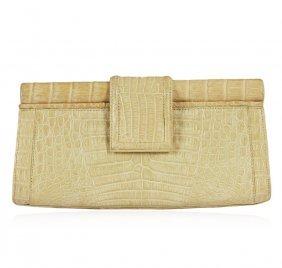Nancy Gonzalez Crocodile Clutch Bag