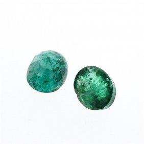 4.17cts. Oval Cut Natural Emerald Parcel