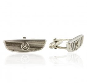 Tiffany & Co Sterling Silver Cuff Links