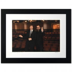 Paul Mccartney & Ringo Starr By Rob Shanahan